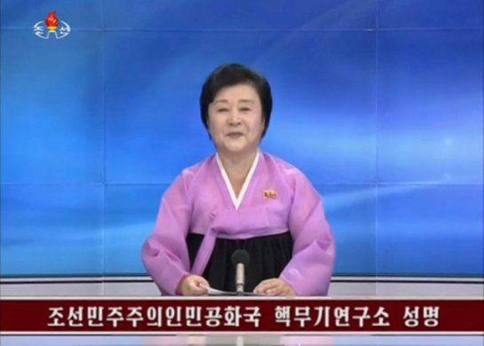 2016年9月9日,朝鲜电视台确认朝鲜进行了第五次核试验。