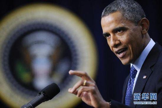 美国总统奥巴马(资料图片)