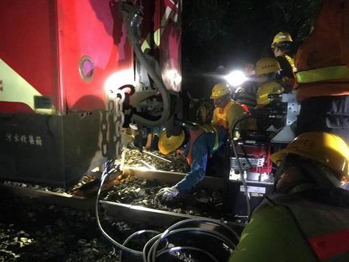台铁供图。图片来源:台湾中时电子报
