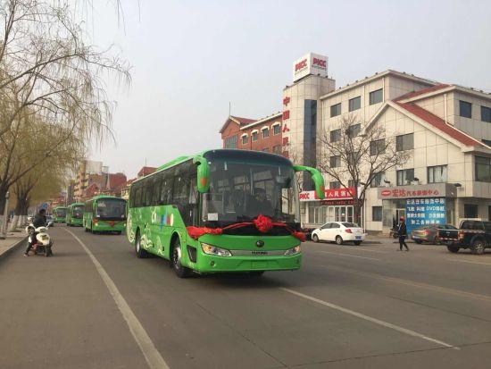 长岛公共交通绿色化100% 全国首个行政区域绿色道路客运体系建成使用