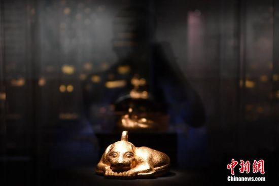 成都举办澳门银河国际赌城官网最大规模黄金展 9公斤金兽现身