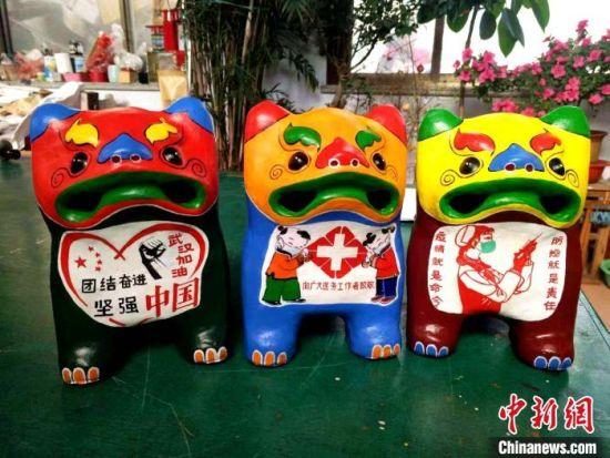 山�|文(wen)�工(gong)作(zuo)者迸�l(fa)��造力 多形(xing)wen)��ψzuo)提振抗疫信心(xin)
