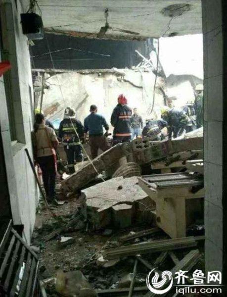 泰安岱岳区一企业发生锅炉爆炸事故