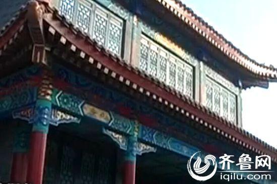 据了解,黄河古镇是一家房地产公司开发的大型文化旅游地产项目(视频截图)