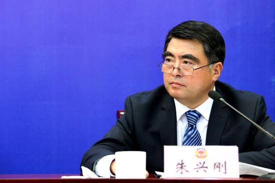 朱兴刚,省政协办公厅副主任,大会新闻组副组长