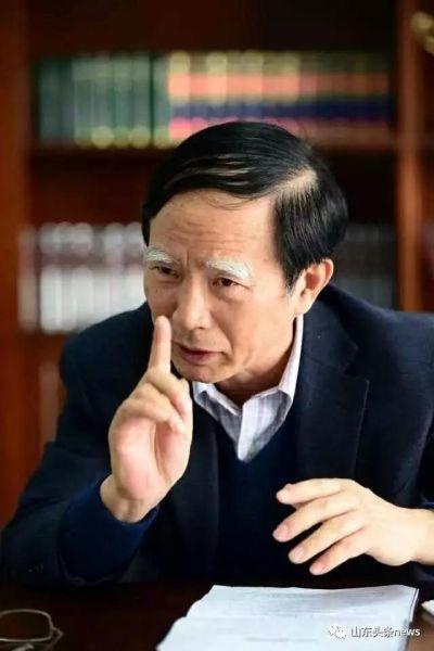 著名历史学家、山东大学《文史哲》杂志编辑部主编王学典教授。