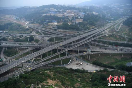 实地探访重庆 最复杂立交 其实并不容易走错路