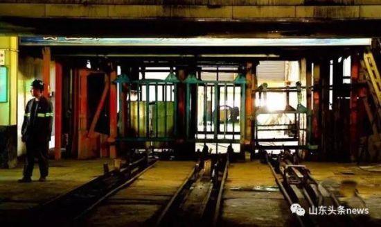 澳门银河国际娱乐官网龙口北皂煤矿内部环境。来源齐鲁网