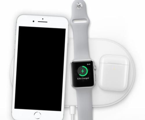 苹果公司发布充电枕AirPower。图片来源:苹果公司官网截图