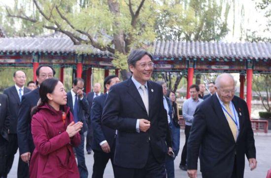 王文涛王忠林出席首届中瑞城市合作论坛水生态文明高端对话