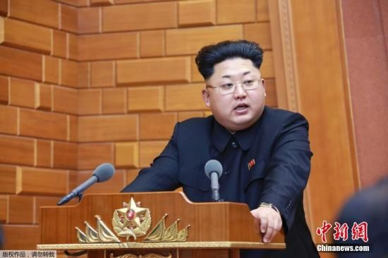 资料图:朝鲜领导人金正恩。