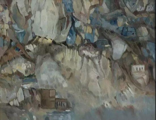 参展艺术家作品于明广《佛光之三》