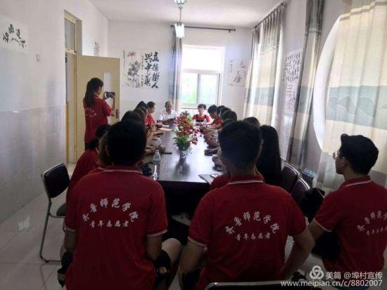埠村街道街道团工委青年志愿者到幼儿园义务支教