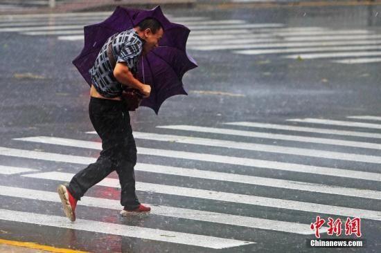 """""""利奇马""""预计今日山东再次登陆 黄淮华北将有强降水"""