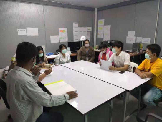 中鐵十局泰國項目部做好疫情防控工作部署