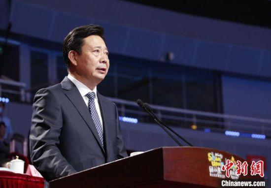 中国文化和旅游部副部长李群出席大会开幕式并致辞。 沙见龙 摄