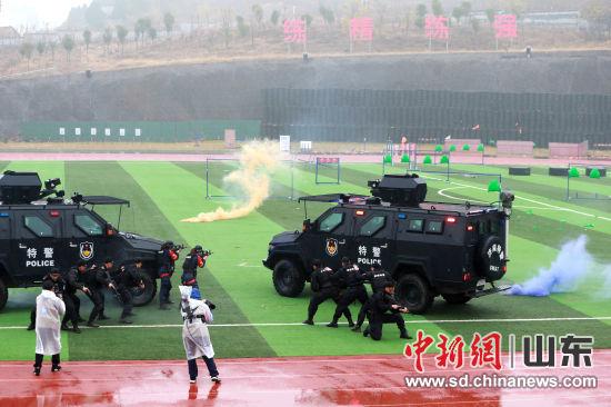 """济南公安""""砺剑2020""""全警实战大练兵综合演练举行"""