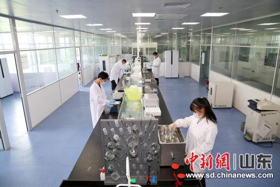圖為山東恒魯生物研發實驗室。