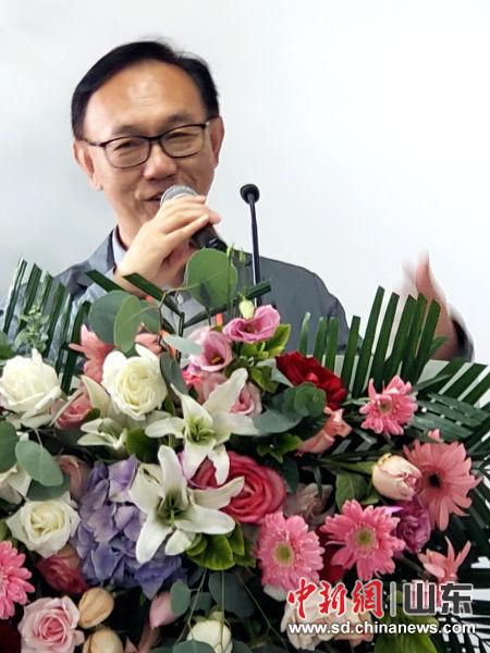 华耀资本董事长刘理勇出席恒鲁生物总部新址落成典礼。邱江波 摄
