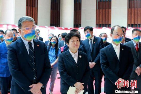 本次展览是山东大学庆祝建校120周年的一项重要学术文化活动。 梁�� 摄
