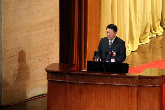 澳门银河国际娱乐官网省政协副主席赵家军当天作工作报告